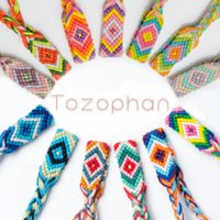 Wholesale woven anklets resale online - Multi Choice Friendship Nepalese Braided Bracelets For Women Bracelets Woven Cuff Bracelet Adjustable Bracelet Anklet Beach Jewelry M573Y