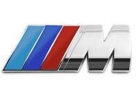 autos deportivos toyota al por mayor-200 pcs Pegatinas para automóviles /// M power M Tech Logo Emblema Insignias para BMW E30 E36 E46 E90 E39 E60 E38 Z3 M4 M3 M5 X1 X3 X4 X5