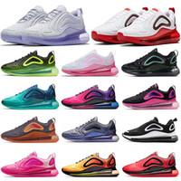 jupiter mulheres venda por atacado-nike air max 720 air 720 720s Sapatos de tênis de Oxigênio Roxo Sapatilha Marrom Rosa Formadores WMNS Sapatas Dos Homens Das Mulheres Designer De Esporte