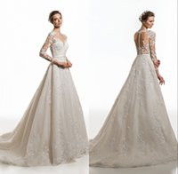 robes de mariage en coréen blanc achat en gros de-Robe de mariée sur mesure 2019 nouveau modèle coréen à la main robe de mariée mariée blanche princesse mariée robes de mariage