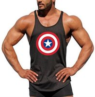 0e1a9b0bee0c1 Wholesale blank tank tops for sale - Gym running vest bodybuilding clothing  and fitness men undershirt