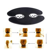 französische twist haarspangen großhandel-Frauen Französisch Hair Braider Twist Styling Braid Werkzeug Magie Halter Clip DIY Werkzeug 12,6x6,5 cm