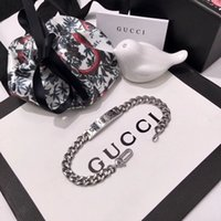 Wholesale 316l stainless steel jewelry links resale online - Top brand name L stainless steel punk bracelet with ghost design for women bracelet in cm wedding jewelry gift PS5399A
