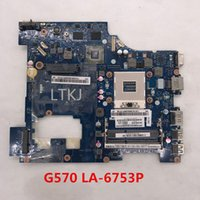материнская плата la оптовых-Высокое качество Для G570 Ноутбук материнская плата PIWG2 LA-6753P HM65 Чипсет HDMI интерфейс 100% тестирование