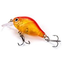 yeni tasarım sert cazibesi toptan satış-Minnow Balıkçılık Cazibesi 55mm 8.5g Topwater Sert Yem Japonya Crankbait Sazan Balıkçılık Wobblers Yapay Mücadele