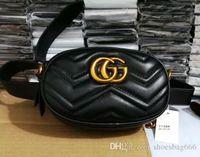 goldene tote großhandel-Mode Frauen Gürteltasche Luxus Marke Elegante Dame Schultertasche Hohe Qualität PU Leder Cross Body Taschen A22
