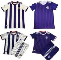 Wholesale men soccer jersey kits resale online - 19 Real Valladolid Thailand soccer jerseys KIT Real Valladolid HOME away Jaime Mata Michel Borja Luismi Jaime football shirts