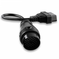 conector wifi obd2 al por mayor-Cable OBD2 para IVECO 38PIN OBD Conector 38-16PIN Cable de diagnóstico Conector automático 38 PIN Adaptador de cable para IVECO38