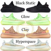 Wholesale light cream resale online - 2019 Black Reflective Kanye West Men Designer Shoes Mens Womens Cream White True Form Sports Shoes Running Sneaker With Box