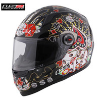 Wholesale ls2 racing helmets for sale - Group buy LS2 Capacetes de Motociclista FF358 Motorcycle Helmet Full Face Motorbike Men Racing Casque Moto Casco