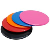 équipement de glissière achat en gros de-Disque de glisse disques disque de remise en forme exercice plaque coulissante pour Yoga Gym abdominaux Core Exercices de formation équipement