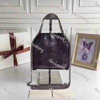 moda bayan çantası toptan satış-Küçük temizle Tasarımcı de marque bayanlar çanta 2019 yeni moda Messenger çanta zincir omuz çantası kadın SHAGGY GEYIK malzeme çanta