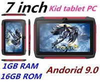 Wholesale kids tablet resale online - Newest kid Tablet PC Q98 Quad Core Inch HD screen Android AllWinner A50 real GB RAM GB Q8 with Bluetooth wifi factory