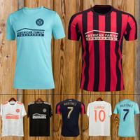 jersey de futebol jones venda por atacado-Top Qualidade tailandesa 19 20 Atlanta United camisa de futebol 2018 2019 GARZA JONES VILLALBA camisa de futebol Atlanta MCCANN MARTINEZ ALMIRON