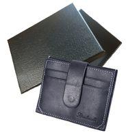 лучший кошелек для кредитных карт оптовых-С коробкой мужской бумажник мужчины женщины известный роскошный дизайнер классический известный короткий держатель кредитной карты мини бумажник лучший подарок