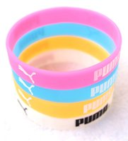 Wholesale glow party clothes for sale - cartoon style Clothing logo Bracelets Wristband Silicone Bracelet Bangle Party Gi
