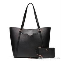 bolso de compras negro al por mayor-MIMCO Fashion Women phenomena tote negro rosegold color grande shopper tote bolso de compras
