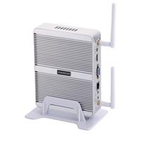 intel hd achat en gros de-Fanless Mini PC, Ordinateur de bureau, Box, Intel Core I3 7100U, Windows 10 / Ubuntu, [HUNSN BM03L], (WiFi / VGA / HD / 4USB3.0 / 2USB2.0 / 1LAN)
