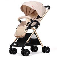 ingrosso carrello elevato per bambino-Passeggino può sedersi reclinabile luce ad alta auto ombrello paesaggio pieghevole BB trolley