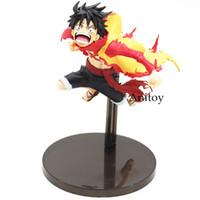 ingrosso figurina luffy-Anime One Piece Monkey D Luffy P.O.P Edizione Limitata Rufy Action Figure Modello da collezione Toy 19cm Figurine Rufy Cappello di Paglia