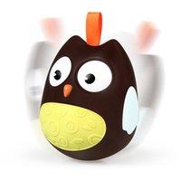 jouet mobile pour bébé achat en gros de-Chaud Mignon Bébé Jouets Nodding Moving Eyes Owl Doll Jouets Pour Enfants Owl Doll Tumbler Bébé Chevet Animaux