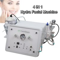 Wholesale microcurrent therapy device for sale - Group buy 4in1 multifunction hydra facial equipment hydra facial diamond dermabrasion machine portable oxygen apparatus microcurrent therapy device