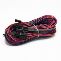 arduino drucker groihandel-10 Teile / los 70 cm 4Pin Kabel Weiblich-Weiblich Überbrückungskabel für Arduino 3D Drucker Reprap AL