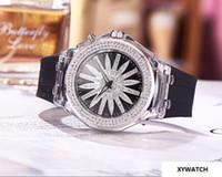 porzellan edelstahl gehäuse großhandel-diamant RESIN 45MM CASE CHINA DAME QUARTZ luxus sport großhandel frauen beobachten bnd neue edelstahl frauen uhren