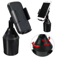 umi handys großhandel-360 einstellbare Handy Auto Cup Holder Ständer Cradle Mount Clip für Handy GPS Portable Ständer Halter für iPhone für UMI