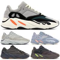 meias top tênis venda por atacado-Adidas Yeezy 700 Salt lnertia Geode Tênis De Corrida Das Mulheres Dos Homens STATIC Mauve Esporte Marca Designer Atletismo Sapatos