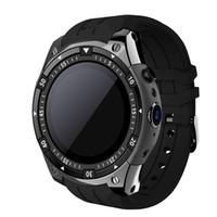 android 5.1 montre intelligente achat en gros de-X100 Bluetooth SmartWatch Android 5.1 MTK6580 3G WiFi GPS Smart Watch Hommes