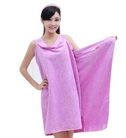 Wholesale skirt variety resale online - Variety Magic Creative beach towels bath towels for women colorful microfiber towel skirt Bathrobes Soft and absorbent de plage