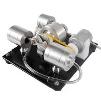 wissenschaft experimente kits großhandel-DIY Montage Dampfmaschine Modell Science Experiment Kit Stromgenerator Frühe Lernspielzeug für Kinder