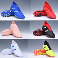 botines de fútbol juvenil ag al por mayor-adidas Predator 19.3 Niños Botas de fútbol AG Tacos de fútbol juveniles para niños al aire libre para niños Juntas altas