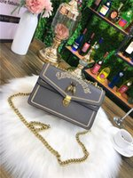 Wholesale metallic wallets online - 2018 Hot Sale Fashion Designer Handbags Women bags Wallets for Women Leather Chain Bag Crossbody and Shoulder Bags