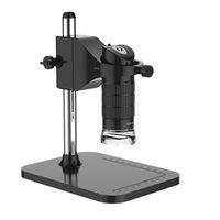 регулируемые подставки для фотоаппаратов оптовых-Портативный 500X / 1000X USB Цифровой Микроскоп 500X 2MP Электронный Эндоскоп Регулируемая 8 LED Лупа Камера с Подставкой