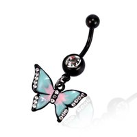 ingrosso piercing della pancia del corpo-Body Jewelry Belly Button Ring Body Piercing Piercing ombelico Regali multicolori per ragazze