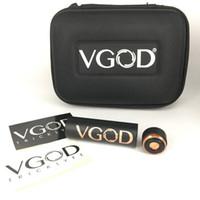 Wholesale vgod mod atomizer resale online - Authentic Vgod Promech mod Fit Tricktank PRO RDTA Atomizers Electronic Cigarette Box Mod Bag Packaging