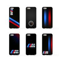 телефонные чехлы для iphone 5c оптовых-Любовный логотип для BMW M Жесткий чехол для телефона для Apple iPhone X XR XS MAX 4 4S 5 5S 5C SE 6 6S 7 8 Plus ipod touch 4 5 6