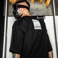 kadın yamaları toptan satış-Yeni VETEMENTS Yama Her Iki Tarafta Erkek Şort Bayan Gömlek Yüksek Sokak Hip Hop Moda Boy Tasarımcı T Shirt HFSSTX172