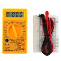 Wholesale digital dc amp meter display for sale - Group buy LCD Display Digital Multimeter AC DC V Amp Volt Ohm Meter Tester SLC88