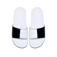 11b61ae2c4e9 Wholesale benassi slippers for sale - 2019 cheap men women designer BENASSI  ultra slippers black white