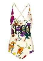 señoras vestidas con ropa al por mayor-G Diseñador de lujo de una pieza para mujer trajes de baño de natación Playa de verano traje de baño señora traje de baño de conexión Ropa de baño Ropa de baño