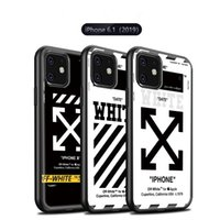capas de carteira destacável galaxy s6 venda por atacado-Nova Camuflagem luxuosa À iphone 11 11Pro 11Pro Max 2019 vidro temperado Marca tampa traseira
