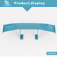 Wholesale racing wall stickers resale online - 3D Small Rear Empennage Car Stickers Auto parts Automobile SUV Motorcycle Racing Decoration Accessories Wall stickers