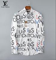 ropa de uso puro al por mayor-Venta al por mayor de otoño e invierno para hombres camisas de manga larga para hombres puros casual POLO camisa de moda Oxford camisa de marca social ropa # 6000