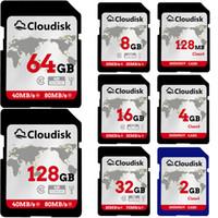 ich sd karten großhandel-SD-Karte 128 MB 1 GB 2 GB 4 GB 8 GB 16 GB 32 GB 64 GB 128 GB SDXC UHS-I-Karte - C10, U3, V30, 4K UHD, SD-Flash-Speicherkarte