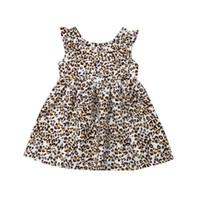 tutus do bebé do impressão do leopardo venda por atacado-Meninas criança bebê tutu vestido princesa leopardo impressão festa aniversário pageant crianças