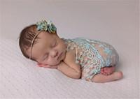 venta de toallas de bebé al por mayor-Envoltura de 17 colores de encaje Baby Blanket spot print para accesorios fotográficos neonatales Toallas de venta caliente europeas y americanas