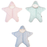 Wholesale heated beds for sale - Group buy Nursery Bedding Sleeping Bags Small Starfish Quilted Winter Thickened Stripe Soft Breathable Light Moisture Absorption Heat Resistant